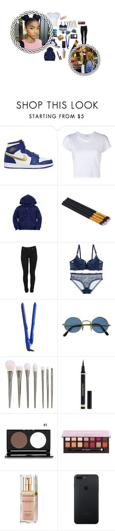 """🌌Neptune🌌"" by gurlgang ❤ liked on Polyvore featuring NIKE, RE/DONE, Junk Food Clothing, PYT, Yves Saint Laurent and Elizabeth Arden"