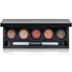 Laura Geller Beauty The Wearables Baked Eyeshadow Palette - DermStore