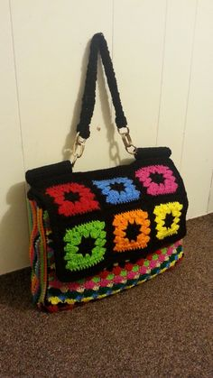 #Crochet Look A Like Designer Handbag Purse #TUTORIAL How to crochet a l...