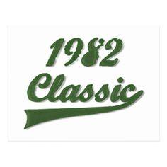 1982 Classic Postcard