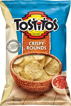 These are my favorite Tortilla chips. They are lighter and crispier than the regular Tostitos.