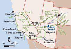 Mietwagenrundreise USA Grandioser Westen 3 Wochen Fairflight