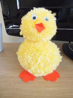 Easter   Decoration   Pompom   Chick