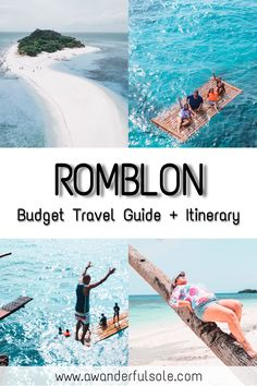 Romblon Travel Guide complete with budget, itinerary, things to do and other essential information. Spain Travel, Greece Travel, Hawaii Travel, Italy Travel, Cliff Diving, Best Vacation Spots, Travel Guide, Travel Ideas, Small Island