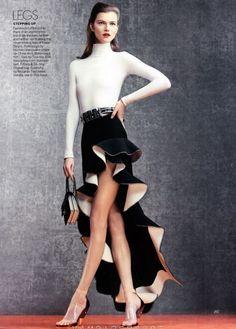 awesome Vogue US | Editorial Moda Abril 2013 | Hilary Rhoda, Doutzen Kroes, Jasmine Tookes, Kasia Struss e Fei Fei Sun