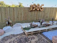 Diy boho style backyard birthday party bohemian
