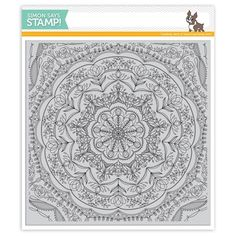Simon Says Cling Rubber Stamp REBECCA LACE BACKGROUND SSS101741 Cherished