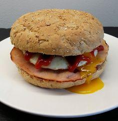 Klidmoster.dk: Pizzaburger - breakfast edition...