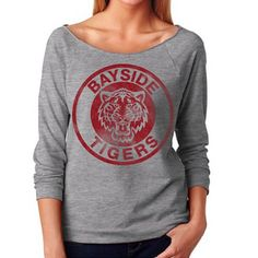 bayside tigers sweater from saved by the bell