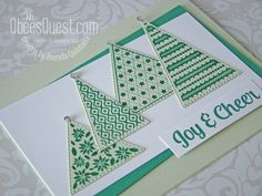 All Things Christmas, Christmas Themes, Stampin Up Christmas, Christmas Cards, Right Triangle, Stampin Up Catalog, Stamping Up, Diy Cards, Stampin Up Cards
