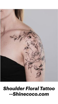 Feminine Shoulder Tattoos, Shoulder Tattoos For Women, Feminine Tattoos, Sleeve Tattoos For Women, Nature Tattoo Sleeve Women, Female Tattoo Sleeve, Classy Tattoos For Women, Feminine Tattoo Sleeves, Classy Women