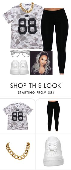 """""""Kik Me @princesscece101 !! Anybody ☺️"""" by trillest-queen ❤ liked on Polyvore featuring NIKE, women's clothing, women, female, woman, misses and juniors"""