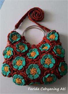 Flowery bag