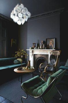 30 beste afbeeldingen van Interieur - Donkere vloer / muur - Home ...