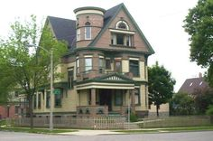 This was a condo sold in Milwaukee Brewers Hill area. This offer 3 different units in this grand old home.