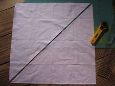 I thought I would share my technique of making bias binding for my quilts. It is a really easy  method and it makes buying the exact quantit...