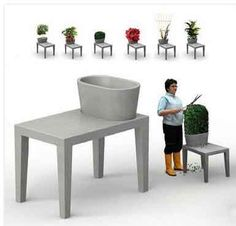 I have always wanted this -- garden furniture from Made In Design