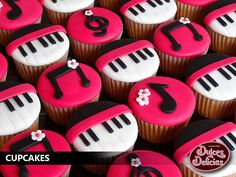 MUSIC CUPCAKES | by DULCES DELICIAS - CUPCAKES & MORE!