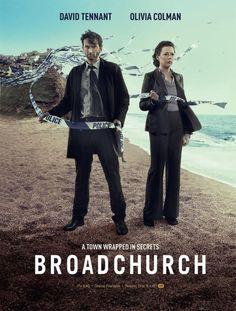 'Broadchurch', Season 1 - Stars David Tennant & Olivia Colman in this… David Tennant, Broadchurch Season 1, Netflix Movies, Movie Tv, Watch Netflix, Series Movies, Movies And Tv Shows, Zone Telechargement, Poster