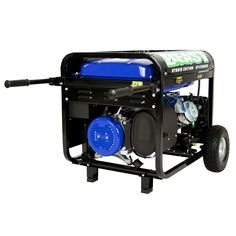 """The DuroMax Hybrid Dual Fuel XP12000EH 12,000 Watt Generator offers the maximum versatility and will have you prepared for any power outages. 12,000 watts of power will provide you with the comfort to weather any storm! This dual-fuel, Gas or Propane fuel source Generator can run upto 20 hours on Propane which will give you the longest run time and minimize maintenance from gasoline emissions. Nicknamed the """"BEAST"""", this unit provides power normally found in home standby units but in a…"""
