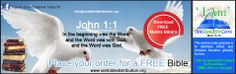 Download or Order a FREE Bible from 'I Am' Bible Distribution Centre. The centres main purpose is to distribute bibles and christian literature globally for free. visit http://lnkd.in/dNd_QAm and place your order Today!!! Also like our facebook page: http://lnkd.in/dNhMKdQ . Mark 16:15