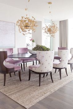 byKoket chandelier // 7 Happy Dining Room Ideas to your Summer House - see more at http://www.homedesignideas.eu/happy-dining-room-ideas-summer-house/