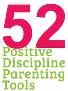 A good overview of positive parenting plus examples of a neat parenting resource!