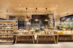 Carrefour Gourmet Market by Interstore Design and Schweitzerproject, Milan - Italy