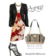 """Miche Classic Leslie"" by miche-kat on Polyvore Miche Classic Leslie animal python print purse #michebag #Interchangeablepurse  http://www.simplychicforyou.com/"
