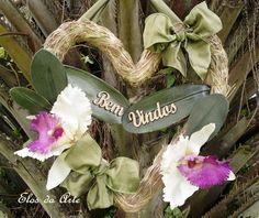 Guirlanda Orquídea