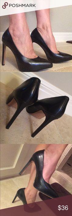Nine West Black Heels Size 6.5 Nine West Black Heels Size 6.5 EUC Nine West Shoes Heels