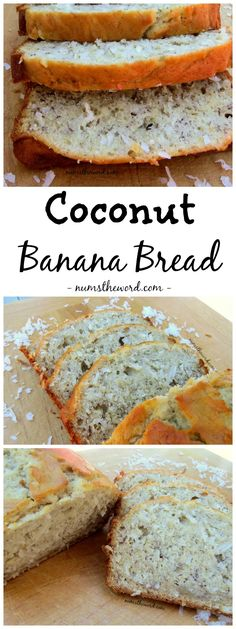 If you love coconut and banana bread, you'll love this coconut banana bread. Easy to make, tasty and the perfect pick me up for a gloomy fall or winter day!
