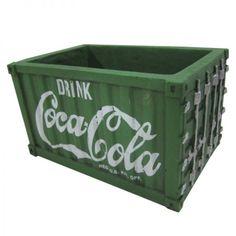 Vaso Coca-Cola Container - Verde