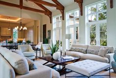 Great secrets of great rooms: Hints for decorating a large space