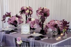 Flowers & Table Setting