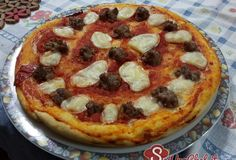 Pizza cheese and sausage!
