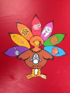 Beginning Sounds Turkey - letter P