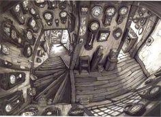 From Blame!, by Tsutomu Nihei: Clocks