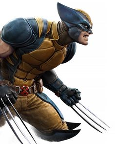 Marvel Dc Comics, Hq Marvel, Marvel Heroes, Superhero Characters, Comic Book Characters, Comic Books Art, Comic Art, Logan Wolverine, Wolverine Art