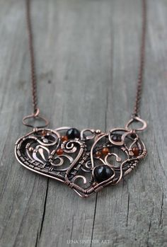 Сarnelian necklace Wire wrap necklace Wirewrap pendant Wirewrapped jewelry Copper necklace Heart pendant Christmas gift Gift gor her Pearl Pendant Necklace, Copper Necklace, Copper Jewelry, Wire Jewelry, Jewlery, Wire Wrapped Necklace, Wire Wrapped Pendant, Mother Gifts, Wire Wrapping