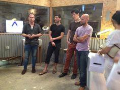 WALKTALK design tour visits Hamechoga designer group space