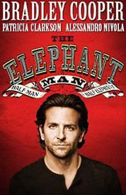 The Elephant Man on Broadway staring Bradley Cooper and Patricia Clarkson.