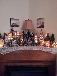 Ceramic village Un mini villaggio di Natale nella tua casa!