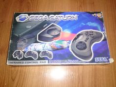 Sega Saturn Infrared Control Pad PAL  #retrogaming #HotSS  In box (with marks) in very good condition. They are more and more expensive. Auction from Spain.