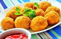 Kulinarne Inspiracje Futki: Kuleczki ziemniaczane
