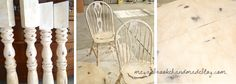 How to Revamp Your Old Kitchen Table {Using Chalk Paint} - Megan Brooke Handmade Old Kitchen Tables, Using Chalk Paint, Wax, Projects, Room, Handmade, Painting, Ideas, Antique Kitchen Tables