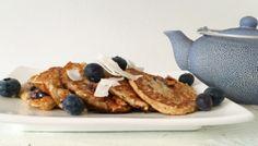 Blue Berry Kokos Pannenkoeken