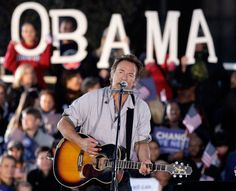 Bruce Springsteen to Head Up Two Pro Obama Rallies