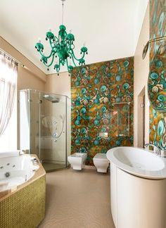 АПАРТАМЕНТЫ 176,4М2, НА АНДРЕЕВСКОЙ НАБ. - Eclectic - Bathroom - Moscow - by APRIORI design