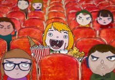 cinema rules: don't make noise eating or drinking | Flickr - Photo Sharing!